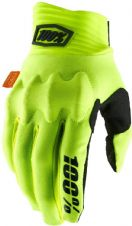 New 100% Cognito D30 Glove Flo Yellow/Black S M L XL Motocross
